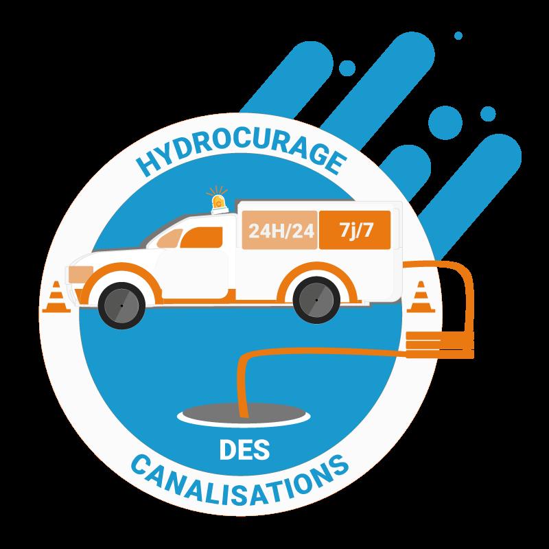 Debouchage plomberie Logo
